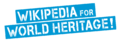 Wikipedia for World Heritage Logo
